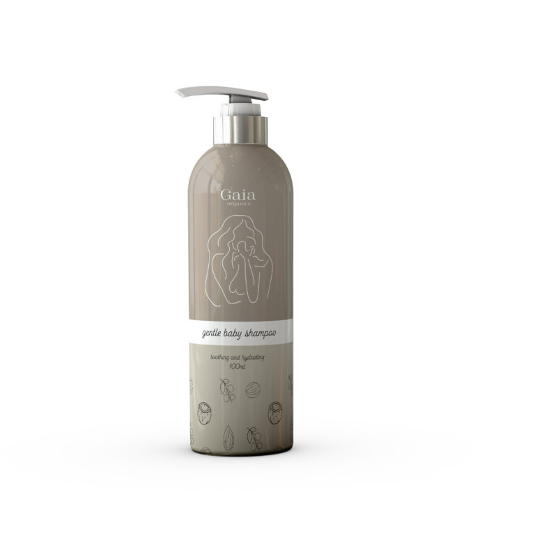 Log, branding and packaging design for baby products