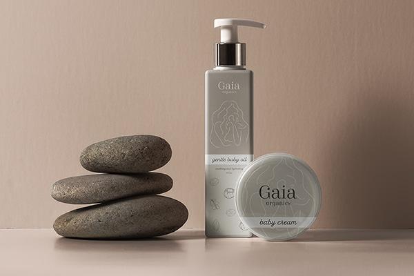 Gaia Organics Branding