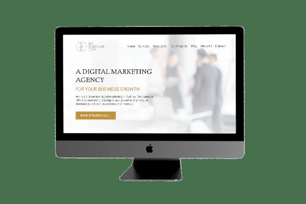 Digital marketing agency. Website development